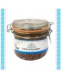 Filetti di acciughe all'olio d'0liva vaso gr 200