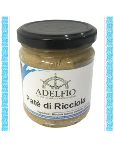 Filetti di Ricciola all'olio d'oliva vaso gr 300