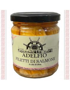 Filetti di Salmone all'olio...
