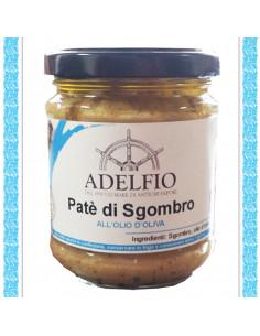 Patè di Sgombro all'olio d'oliva vaso gr 200