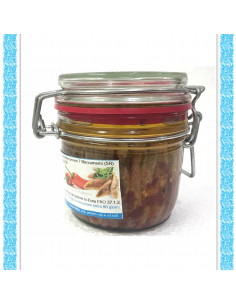 Filetti di acciughe all'olio d'0liva vaso gr 230