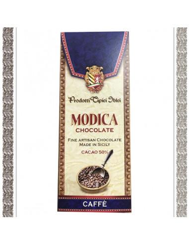 CIOCCOLATA DI MODICA AL CAFFE'
