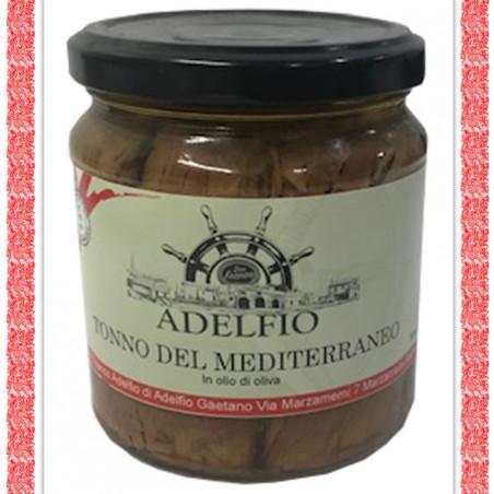 Tonno del Mediterraneo all'olio d'oliva vaso g 200