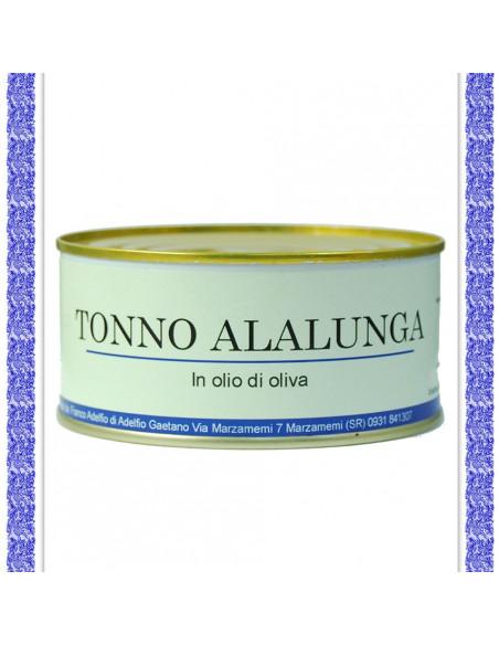 Tonno Alalunga all'olio d'oliva latta gr 300