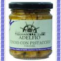 Tonno con Pistacchio all'olio d'oliva vaso gr 200
