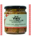 Tonno del mediterraneo all'olio d'oliva vaso gr 300