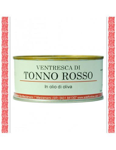 Ventresca di Tonno Rosso all'olio d'oliva latta gr 300