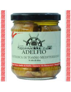 Ventresca di Tonno Mediterraneo all'olio d'oliva vaso gr 200