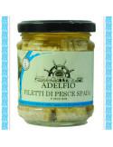 Filetti di Pescespada all'olio d'oliva vaso gr 200