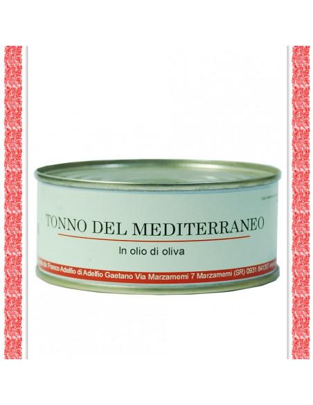 Tonno del Mediterraneo all'olio d'oliva latta gr 160