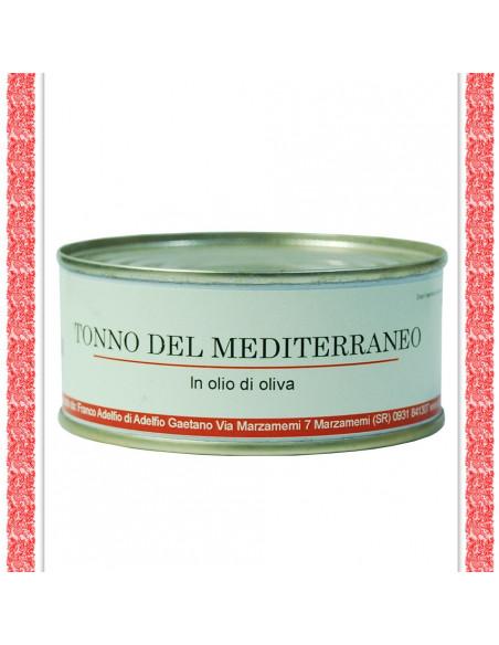 Tonno del Mediterraneo all'olio d'oliva latta gr 300