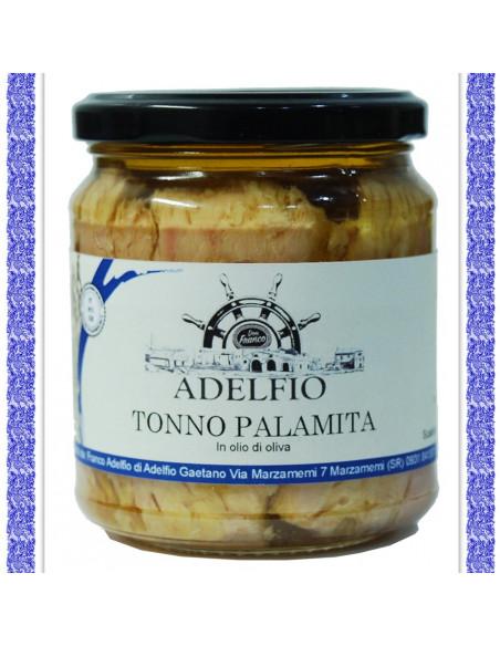 Tonno Palamita all'olio d'oliva vaso gr 300