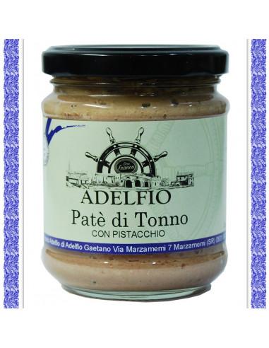 Patè di Tonno con pistacchio vaso gr 200