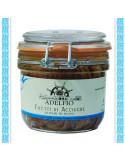 Filetti din Acciughe all'olio di semi di girasole vaso gr 240