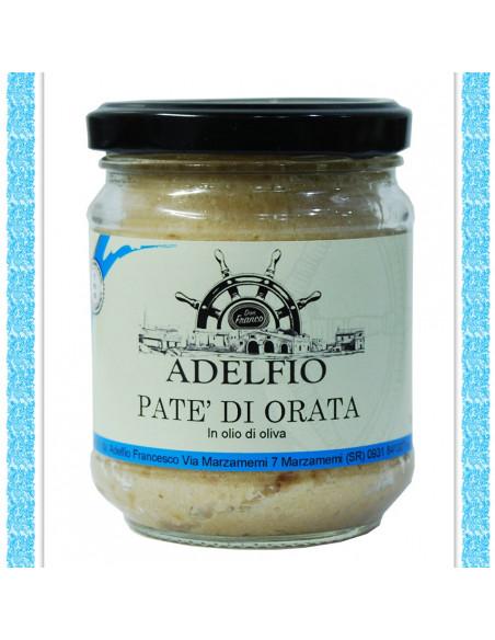 Patè di Orata all'olio d'oliva vaso gr 200